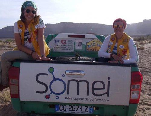 Somei partenaire du Rallye des Gazelles au Maroc 2017