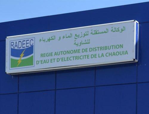 Mise en service de Wat.erp à la RADEEC (Régie de Distribution d'Eau et D'Electricité de la Chaouia) au Maroc