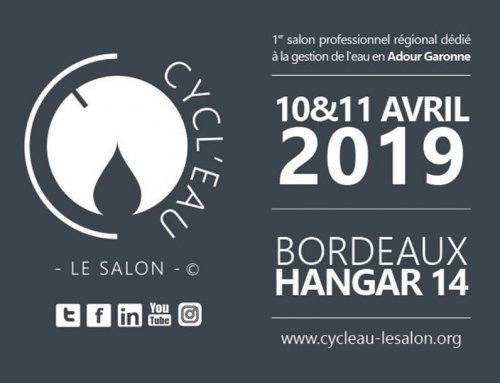 SOMEI va participer au salon CYCL'EAU à Bordeaux le 10 et 11 avril 2019