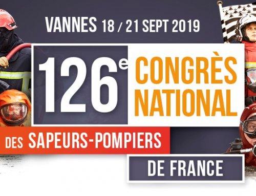 Participation au Somei sera présente au 126ème congrès national des sapeurs-pompiers de France