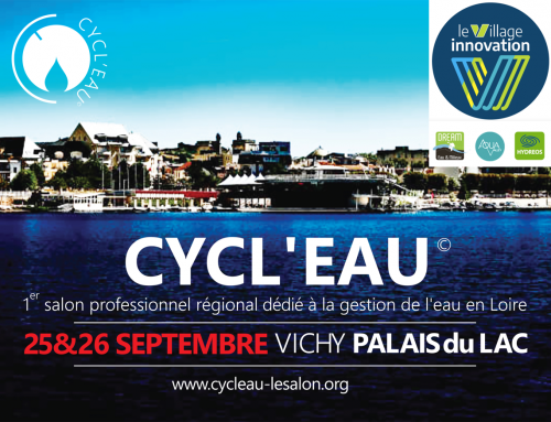 We'll be attending the CYCL'EAU show in Vichy on 25 and 26 September 2019.