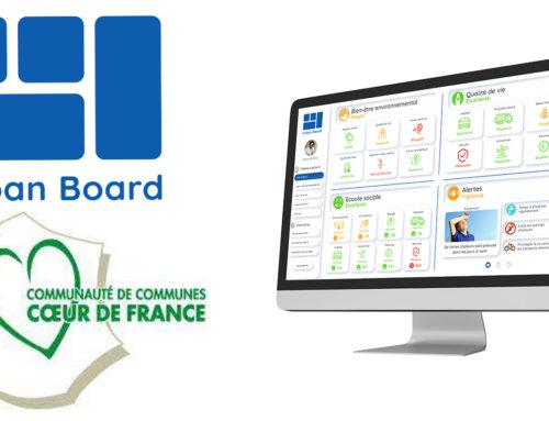 La Communauté de communes Cœur de France a choisi Urban Board pour le pilotage de la performance de son territoire