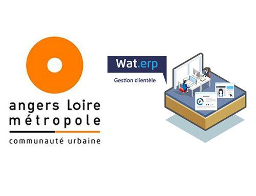Angers Loire Métropole fait confiance à Wat.erp !