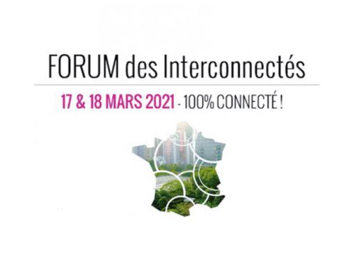 SOMEI présente sa solution digitale innovante au service des territoires durables au Forum des Interconnectés le 17 mars !