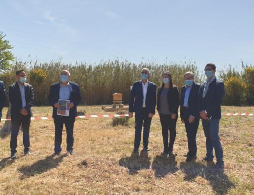Le Grand Narbonne inaugure les ruches connectées API-Smart