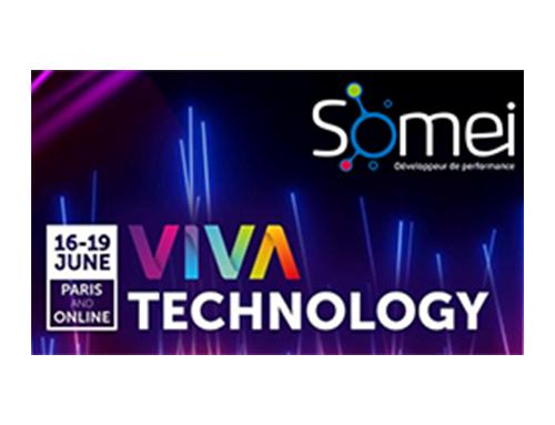 Pleins feux sur SOMEI à VivaTechnology, le plus grand événement européen de technologies et d'innovation!