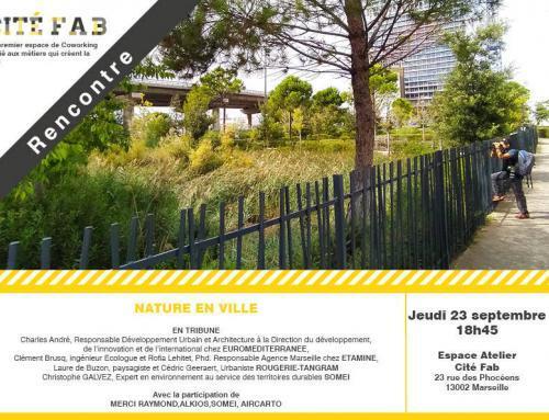Rencontre et débat :  SOMEI présent à Cité Fab Marseille